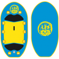 Stand Up Paddle In Pool - trainers board kit